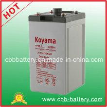 Batería de almacenamiento AGM de la batería 2V 400ah de la telecomunicación
