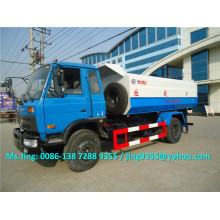 LHD / RHD New 4x2 wheel 12m3 waste truck container garbage truck with garbage bin lifter