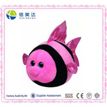 Cute Round Anglefish Plush Toy/Plush Fish Doll