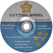 Disco do corte de Abraisve para o aço inoxidável En12413 7 ′ ′ 180 * 3mm