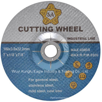 Abraisve Cutting Disc for Stainless Steel En12413 7′′ 180*3mm
