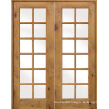 Double Glass Door Frech Patio Extry Doors