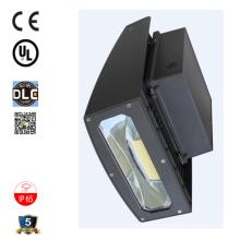 ETL Sicherheit Lichtbereich Beleuchtung 20w 30w 120lm / w vollen Cutoff verstellbaren Kopf schlanke Wand Pack LED-Licht Herstellung Großhandel
