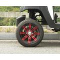 4-Sitzer Elektro Golf Buggy mit Flip-Flop Rücksitz