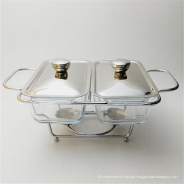 Preiswerter Edelstahl isolierte Chaffing Dish Restaurant benutzten Speisenwärmer