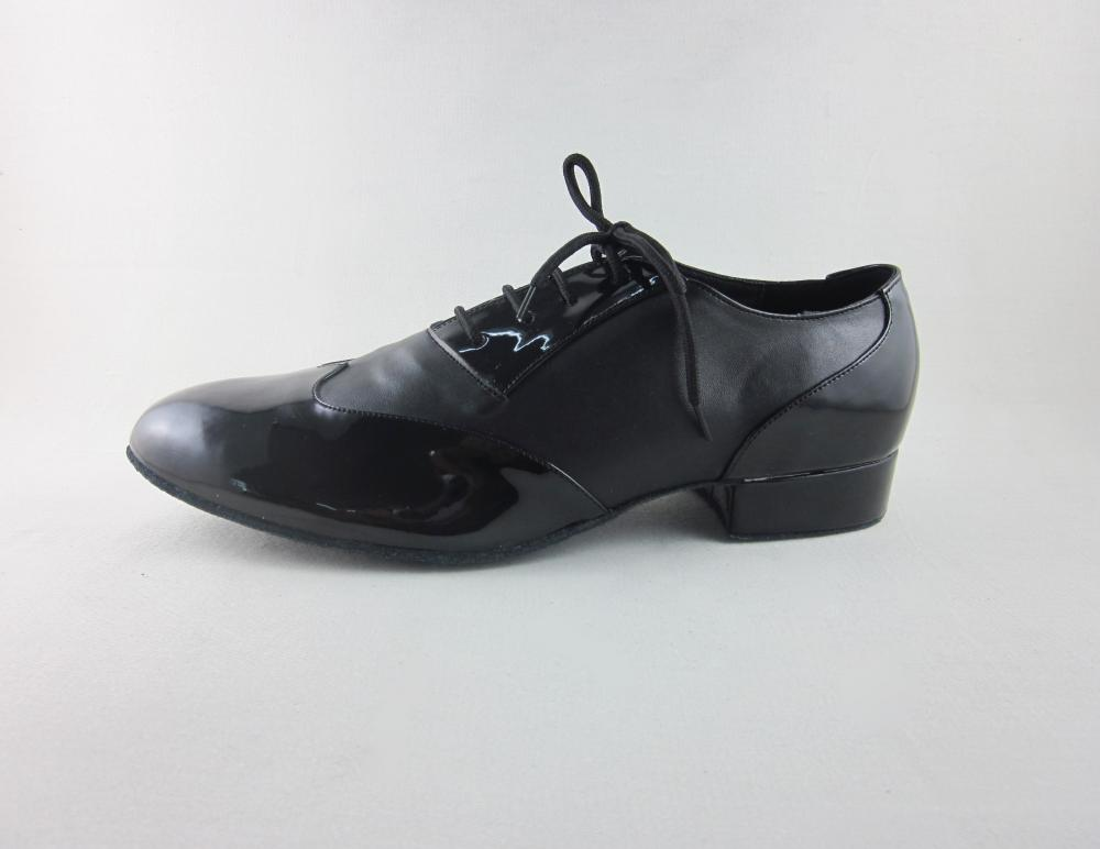 Black Ballroom Shoes Men Size 11