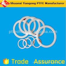 100% virgen ptfe o-ring electricidad-resistencia química equipos de máquinas de las industrias