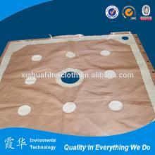 Paño hepa de colector de polvo de cemento para filtros