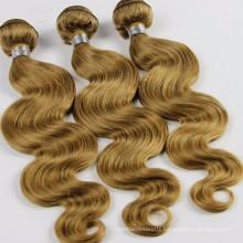 High quality 100% Indian human hair weave, virgin curly Indian hair extensions, human hair weft