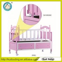 EN1888 hochwertiger Rahmen China Baby Holz Bett Latten