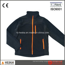 Knitting Fleece Windproof Polyester Jacket