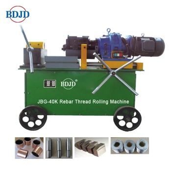 JBG-40KI Machine à fileter électrique pour barres d'armature pour la construction