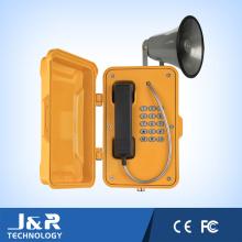 Broadcasting Wasserdichtes Telefon, Emergency Intercom Telefon, Industrial Alert Telefon