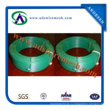 Покрынный PVC провод связи/пластиковым покрытием Твист галстук провод