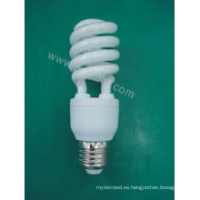 Lámpara ahorro de energía espiral medio