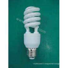 Lampe économiseuse d'énergie de moitié en spirale