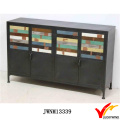 Gabinetes de almacenamiento de metal para servicio pesado industrial de estilo vintage