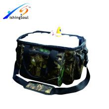 FSBG021 Sac de pêche grossiste sac de pêche avec 2 boîtes en plastique et 14pcs tubes