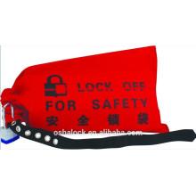Sicherheitskran-Controller-Sperrung & Tagout-Cinch-Tasche für Kreuzungsbögen und Aufzugsregler
