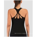 Open Back Running Sports Shirts for women
