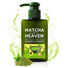 OEM Best Daily Facial Wash Matcha Green Tea Vegan Cleanser