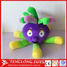 Mascota famosa de la demostración de la TV salta el juguete de encargo de la felpa