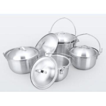 Pot de cuisine en aluminium