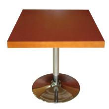 Деревянный стол в ресторане и столовой стол для мебели гостиницы