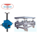 4 sets motor-driven screw jacks for platform loading