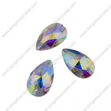 Ropa decorar alta calidad gota Ab Crystal Rhinestone