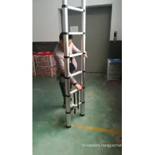 3.2m telescopic loft ladder aluminium with frame