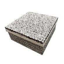 Caixa de papel / caixa de presente elegante artesanal / cosmética