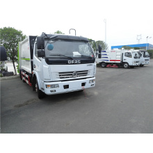 Compress waste collection mobile trash compactor truck