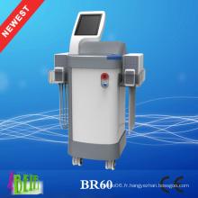 Machine de liposuccion à 4D à la nouvelle technologie, machine à amincir liposurant réduisant la graisse