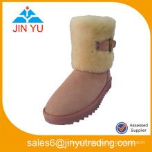 2015 new model lady fur snow boots