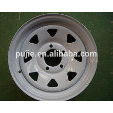 Car spar part 5x139.7 trailer steel wheel