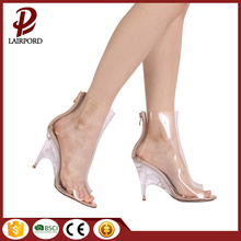 women's peep toe beautiful low heel shoes
