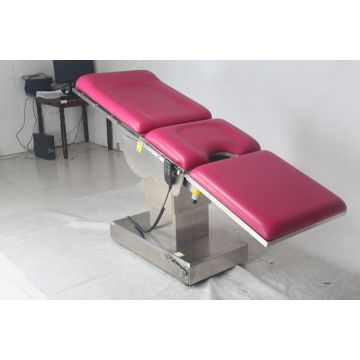 Electrical+Stainless+Steel+Gynecology+Table+for+Hospital