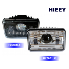 "DOT Approval 4""X6"" off road Led headlight for truck high / low beam headlight"
