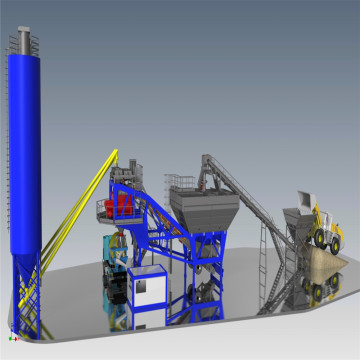 Used Ready Made Concrete Mix Batching Plant