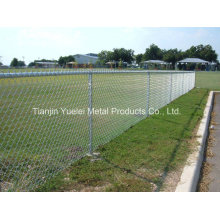 Cheap Galvanized Used Chain Link Garden Fence/Galvanized Coated Garden Border Fence/Temporary Garden Fence Made in China