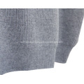 Camisola de homem em cashmere com decote redondo