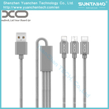 3 in 1 Charging USB Data Cable for Tablet/Android/iPhone6