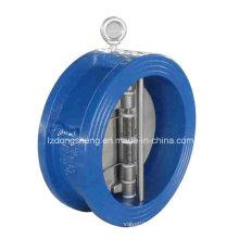 Válvula de retenção de válvula dupla Wafer