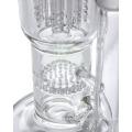 Honeycomb Perc to Tree Perc Hookah Glass Smoking Water Pipe (ES-GB-565)