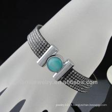 Bracelete elástico novo dos estilos pavimenta o bracelete cheio do cristal do Rhinestone