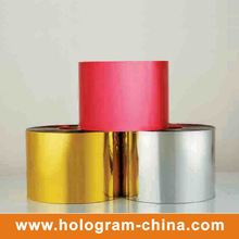 Tamper Evident Colorful Hard Embossing Film
