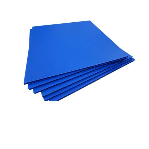 Plastic hollow plate