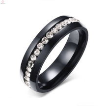 Precio de venta al por mayor a granel de acero inoxidable His and Hers Wedding Premier Ring Jewelry
