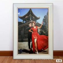 Großer Hochzeits-Bilderrahmen in guter Qualität